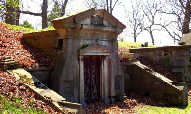 Mausoleum 13 by Gerri R. Gray